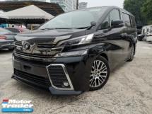 2015 TOYOTA VELLFIRE 2.5 ZG 2POWER DOOR/POWER BOOT/FRONT ALPINE MONITOR UNREG