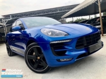 2016 PORSCHE MACAN S 3.0 V6 TWIN TURBO (A) CBU IMPORT BARU UNDER WARRANTY PORSCHE