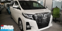 2016 TOYOTA ALPHARD 2.5 SA / SUNROOF / 7 SEATER / READY STOCK NO NEED WAIT