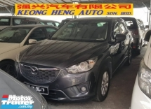 2014 MAZDA CX-5 2.5 (A) CKD (FREE 2 YEARS WARRANTY)