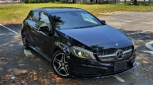 2015 MERCEDES-BENZ A-CLASS 2015 MERCEDES BENZ A180 1.6 AMG NIGHT EDITION UNREG JAPAN SPEC  CAR SELLING PRICE ONLY RM 139000.00