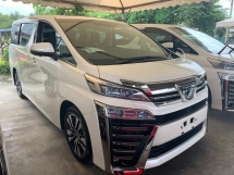 2018 TOYOTA VELLFIRE 2.5ZG NEW FACELIFT 3LED LOW MILEAGE JAPAN DEMO CAR 202KM ONLY PILOT LEATHER SEAT TWIN SUNROOF SUROUND CAMERA