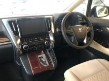 2016 TOYOTA ALPHARD 2.5 Dual VVT-i 360 Camera Automatic Power Boot Pre-Crash 2 Power Doors Intelligent LED Smart Entry Push Start 3 Zone Climate Control 9 Air Bags Unreg