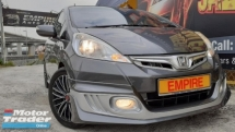 2014 HONDA JAZZ 1.3 (A) HYBIRD HATCHBACK !! FULL MODULO BODYKIT !! NEW FACELIFT !! PREMIUM HIGH SPECS !! ( BXX 1909 ) 1 CAREFUL OWNER !!
