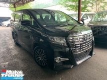 2015 TOYOTA ALPHARD 2.5 SC PILOT SEATS2 POWER DOOR POWER BOOT HALF LEATHER UNREG