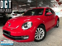 2016 VOLKSWAGEN BEETLE 1.2 TSI  1 LADY OWNER ORI PAINT TIPTOP CONDITION LIMITED EDITION