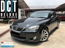 2011 LEXUS IS250 FACELIFT LUXURY SPEC LIMITED BLACK EDITION INTERIOR FULLY BLACK LEATHER FULL SERVISE RECORD
