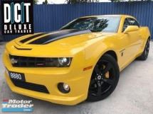 2010 CHEVROLET CAMARO 6.2 SS (A) 11K KM Milleage V8  Bumble Bee Transformers DREAM CAR