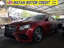 2018 MERCEDES-BENZ E-CLASS E300 2.0 AMG COUPE KEYLESS PANORAMIC ROOF POWER BOOT REVERSE CAMERA UK UNREG
