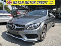 2018 MERCEDES-BENZ C-CLASS C300 2.0 AMG KEYLESS BURMESTER SOUND PANORAMIC ROOF POWER BOOT UK UNREG