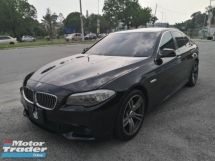 2013 BMW 5 SERIES ORIGINAL 528I 2.0 CC M-SPORTS FACELIFT 240 HP