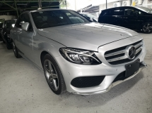 2014 MERCEDES-BENZ C-CLASS C200 AMG 2.0/FREE 5 YEARS WARRANTY/OFFER/NON SMOKING