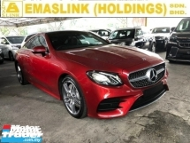 2018 MERCEDES-BENZ E-CLASS 300 2.0 CP AMG LINE PREMIUM PLUS PANAROMIC ROOF POWER BOOT REVERSE CAMERA FREE WARRANTY