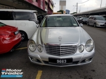 2008 MERCEDES-BENZ E-CLASS E200K CKD (A) BEST DEAL