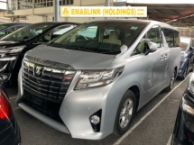 2015 TOYOTA ALPHARD 2.5 X surround camera power boot 2 power doors 8 seaters unregistered