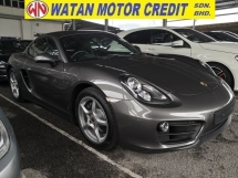 2016 PORSCHE CAYMAN 2.7 UK UNREG