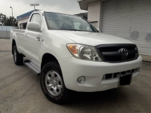 2009 TOYOTA HILUX SINGLE CAB 2.5