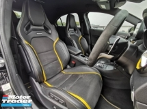 2018 MERCEDES-BENZ A45 AMG 2.0 (A) Facelift Yellow Night Edition Under Mercedes Warranty LImited Edition