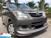 2007 TOYOTA AVANZA 1.3 Manual TIPTOP CONDITION FulloanOTR