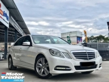 2013 MERCEDES-BENZ E-CLASS E250 CGI BLUE EFFICIENCY AVANTGARDE