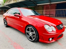 2007 MERCEDES-BENZ CLK MERCEDES BENZ CLK 200k 1.8 LUXURIOUS COUPE SPORT 2 DOOR