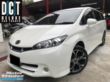2012 TOYOTA WISH 1.8 HIGH SPEC NEW FACELIFT MODEL PADDLE SHIFT PUST START FULL LEATHER SEAT ONE OWNER FULL SERVICE ON TIME 56 KM ONLY 4 DISE BREAKE
