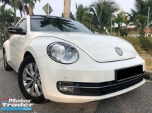 2014 VOLKSWAGEN BEETLE 1.2 TURBO TSI CONDITION TIPTOP FulloanOTR