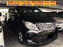 2008 TOYOTA ALPHARD 3.5 (A) GL Full Spec Registered 2012