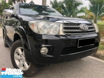 2010 TOYOTA FORTUNER 2.7 V (A) FULLSPEC CONDITION TIPTOP FulloanOTR