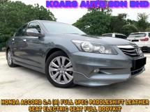 2013 HONDA ACCORD 2.4 VTi-L FACELIFT ORI PAINT PADDLESHIFT FULL BODYKIT