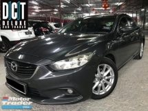 2015 MAZDA 6 2.0 SKYACTIVE G PREMIUM F/SPEEC PUSH START ONE LADY OWNER LOW MILEAGE