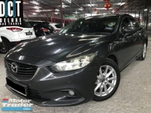 2015 MAZDA 6 2.0 SDN 5EAT PREMIUM SKYACTIV-G HIGH SPEC FULL RECORD ONE OWNER LOW MILEAGE TIPTOP CONDITION