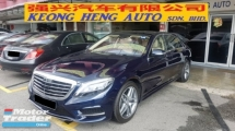 2017 MERCEDES-BENZ S-CLASS S400L HYBRID AMG LINE (A) REG 2018, ONE CAREFUL OWNER, FULL SERVICE RECORD, VERY LOW MILEAGE DONE 2K KM, UNDER MERCEDES BENZ MALAYSIA WARRANTY UNTIL YEAR 2022