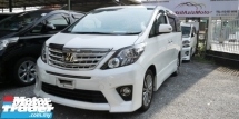 2014 TOYOTA ALPHARD 2.4 TYPE GOLD 2 / SUNROOF / ALPHINE JAPAN TV AND MONITOR / READY STOCK NO NEED WAIT
