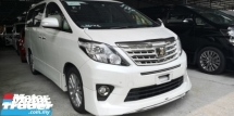 2014 TOYOTA ALPHARD TYPE GOLD 2 / READY STOCK OFFER / 4 YEARS WARRANTY UNLIMITED KM