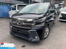 2015 TOYOTA VELLFIRE 2.5 ZA BIG ALPINE PLAYER AND MONITOR 2 POWER DOOR 7 SEATER UNREG