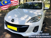 2013 MAZDA 3 SPORT 2.0 SDN (A) FACELIFT LEATHER PADDLESHIFT