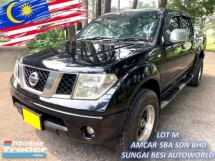 2012 NISSAN NAVARA 2.5L 4X4 LE (A) ENHANCED FACELIFT
