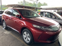 2017 TOYOTA HARRIER 2.0 4 camera power boot precrash system keyless push start facelift unreg
