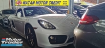 2015 PORSCHE CAYMAN S 3.5 PDK FACELIFT.UNREG.TRUE YEAR CAN PROVE.INCLUDED SST.HIGHSPEC.SPORT DESIGN STEERING.REVERSE CAMERA.20 INCH SPORT RIM.PADDLE SHIFT.FREE WARRANTY N MANY GIFTS