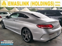 2016 MERCEDES-BENZ C-CLASS 200 AMG COUPE PANAROMIC ROOF POWER BOOT MEMORY BUCKET LEATHER SEATS REVERSE CAMERA FREE WARRANTY