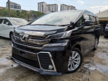 2015 TOYOTA VELLFIRE 2.5 ZA 2 POWER DOOR/ 7 SETAS UNREG