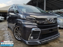 2015 TOYOTA VELLFIRE 2.5 Z SPEC 8 SEATS/2 POWER DOOR UNREG
