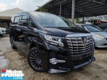 2015 TOYOTA ALPHARD 2.5 S 8 SEATS/2 POWER DOOR/BLACK INTERIOR UNREG