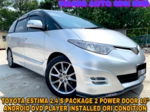2013 TOYOTA ESTIMA 2.4 Aeras S Package 2 POWER DOOR ANDROID PLAYER FULL BODYKIT