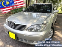 2004 TOYOTA CAMRY 2.0E (A) LEATHER LOW MILEAGE 1 OWNER