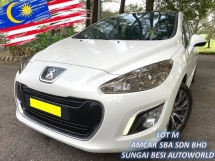 2013 PEUGEOT 308 1.6 THP FACELIFT (A) TURBO PANORAMIC DRLs