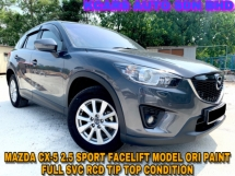 2015 MAZDA CX-5 2.5 4WD SPORTS FACELIFT FULL SPEC SUNROOF