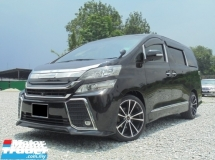 2008 TOYOTA VELLFIRE 3.5 V L Edition MPV PilotSeat 2Powerdoor Powerboot HomeTheather Facelift LikeNEWReg.2009