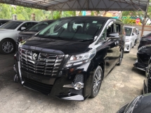 2015 TOYOTA ALPHARD Unreg Toyota Alphard SC 2.5 7seather 360view PowerBoot Push Start 7G